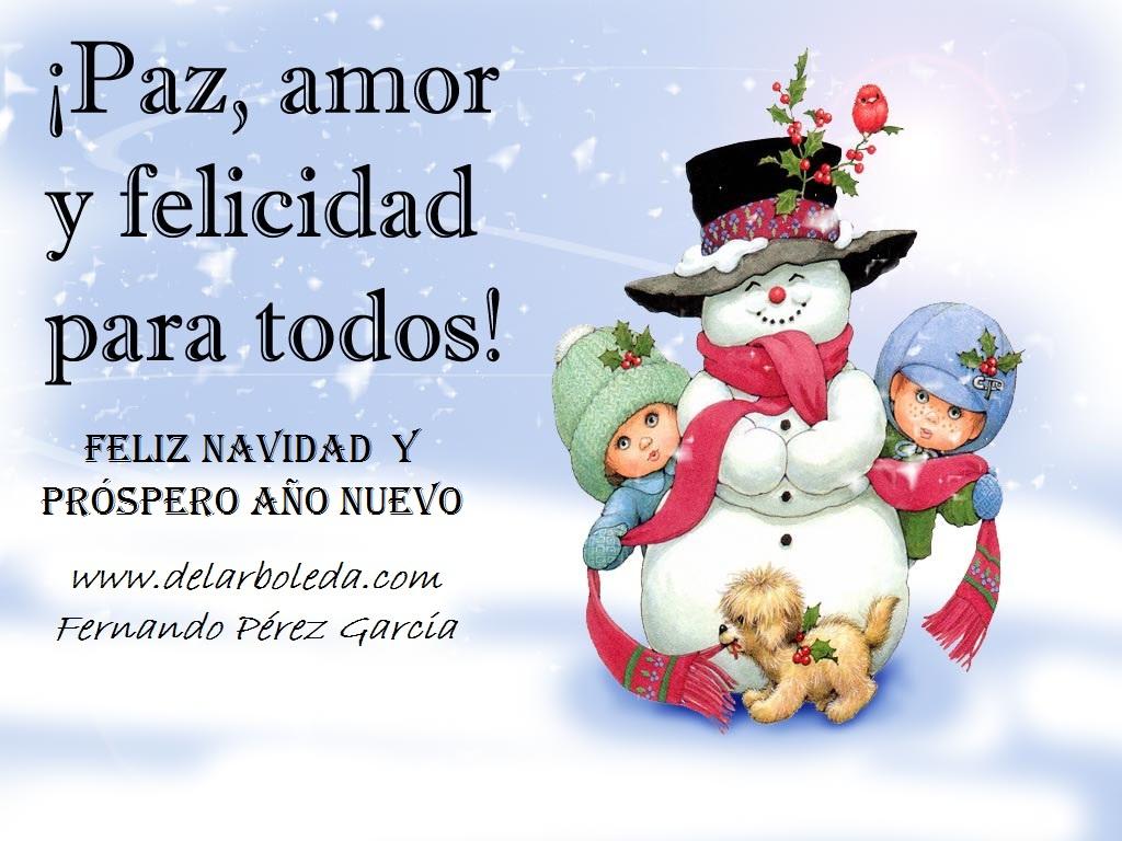 Feliz navidad y pr spero a o nuevo 2013 delarboleda - Dedicatorias para navidad y ano nuevo ...